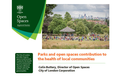 Parks and Open Spaces, Colin Buttery