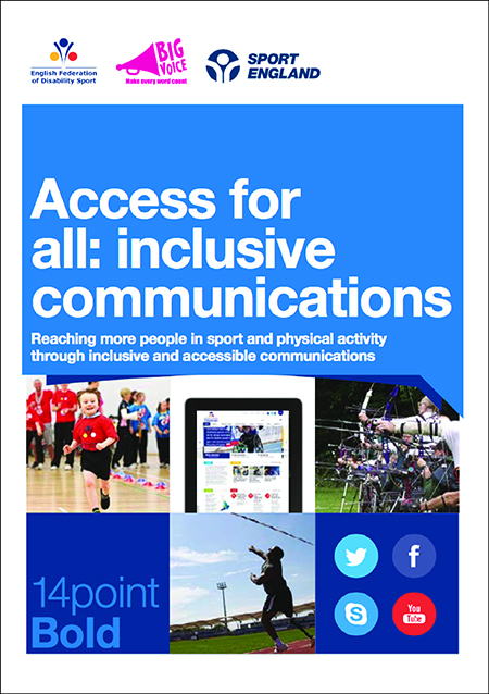 Access For All Inclusive Communications English Federation of Disability Sport