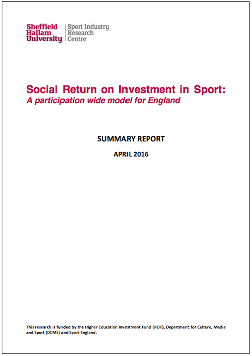 Social Return On Investment In Sport