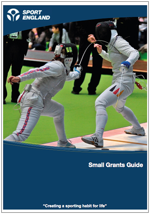 Sport England Small Grants Guide