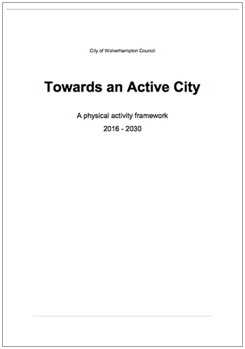 Towards an Active City